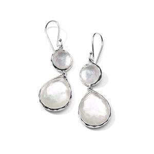Ippolita wonderland mother of pearl drop earrings